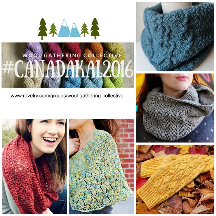#CanadaKAL | knittedbliss.com