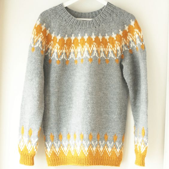 Pin Ups and Link Love: 12 inspiring Icelandic Sweater Patterns | knittedbliss.com