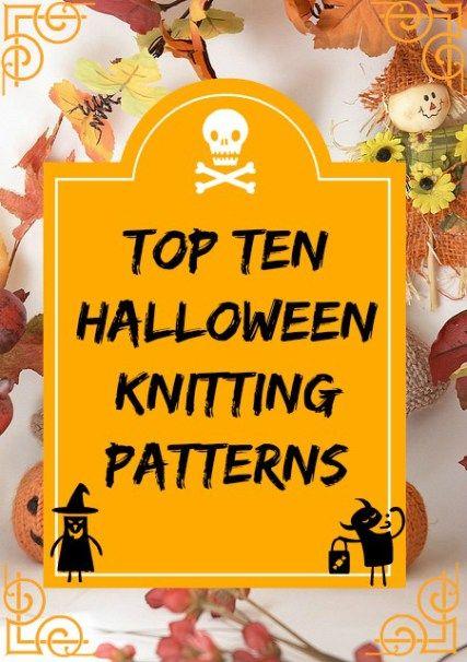 Pin ups and Link Love: Best Halloween Knitting Patterns | knittedbliss.com