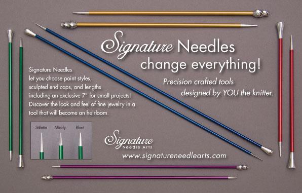 Signature Needles   The New Kids on the Block   Knitting