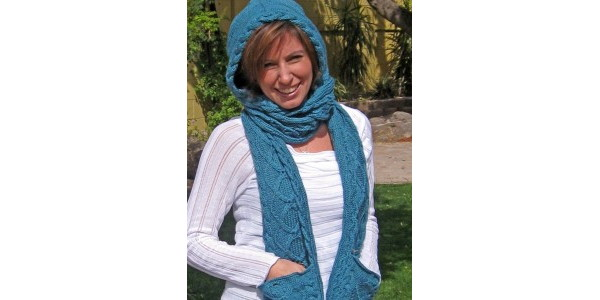 Hooded-Scarf-pattern-free