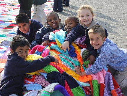 mandela day blanket