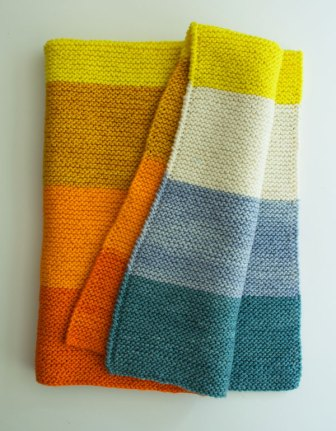 purl bee super easy baby blanket