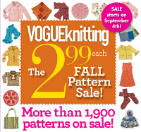 vogue knitting sale