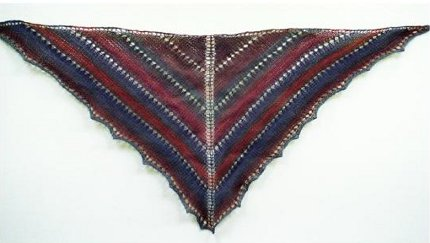 painted desert shawl