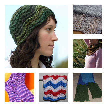 feather and fan knitting patterns