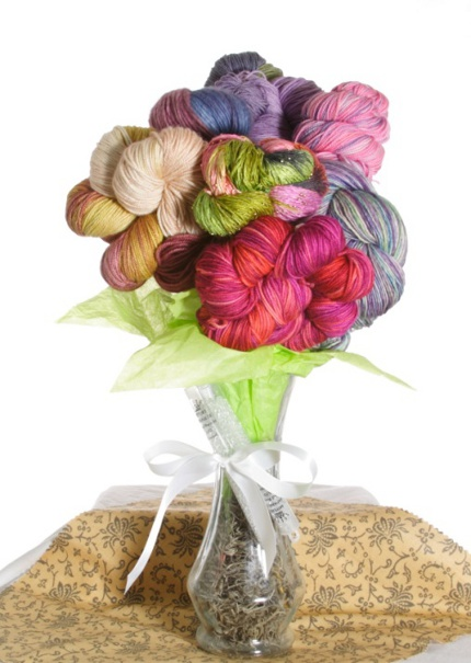 jimmy beans yarn flowers