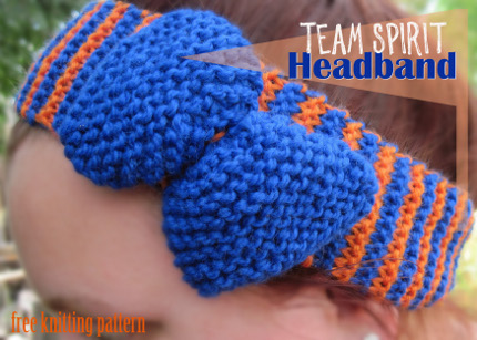 team spirit headband craft foxes