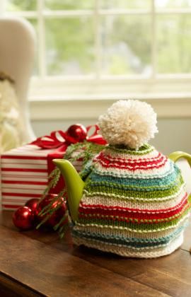 tea cozy red heart