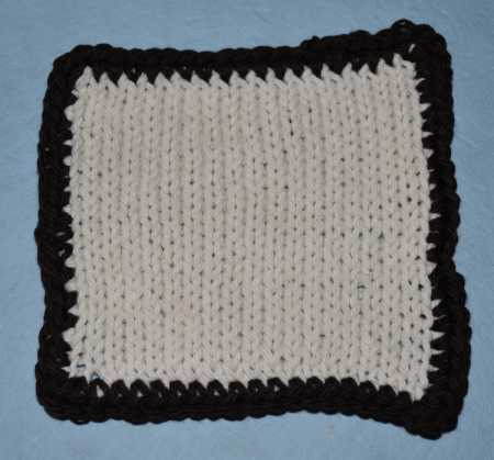 How to Border with Single Crochet Ribbing - For Dummies