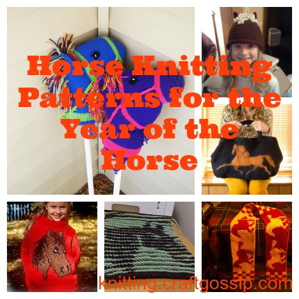 horse knitting patterns