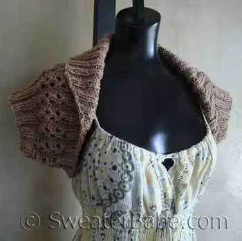 shawl collar shrug sweater babe