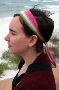 Beach headband - Osborn Fibers