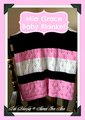 check out this cute eyelet baby blanket, perfect for summer babies