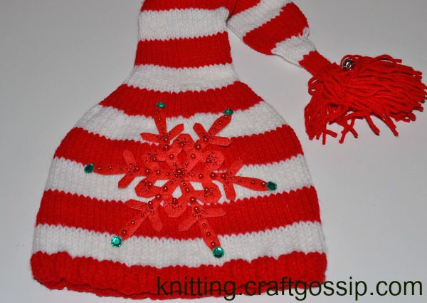 easy hat embellishment with mr micknit