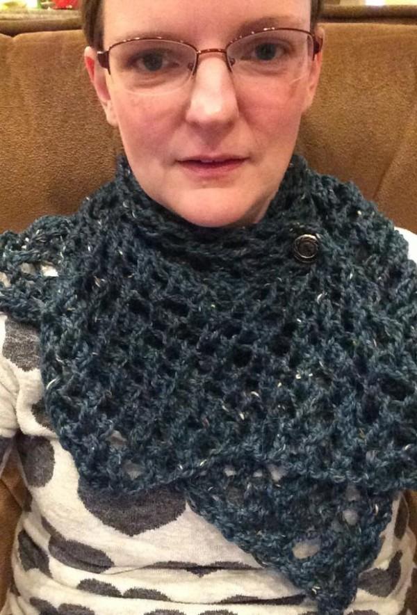 my mustard scarf by Jane Richmond.