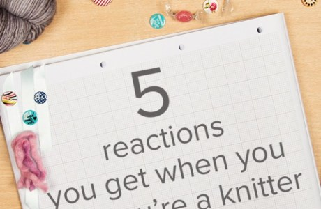 reactions to knitting