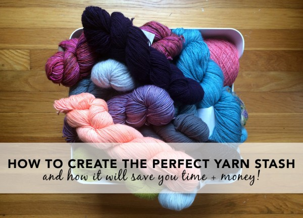 is there such thing as a perfect yarn stash?