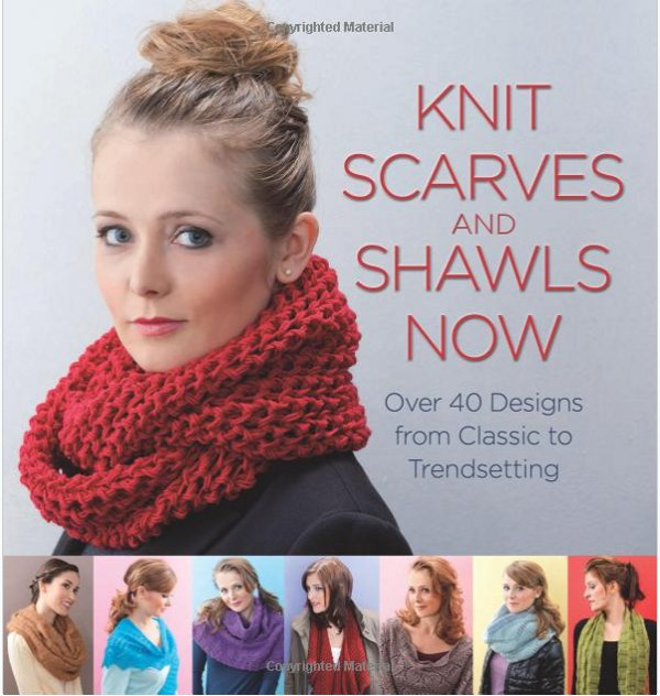 Knit scarves and shawls now book review