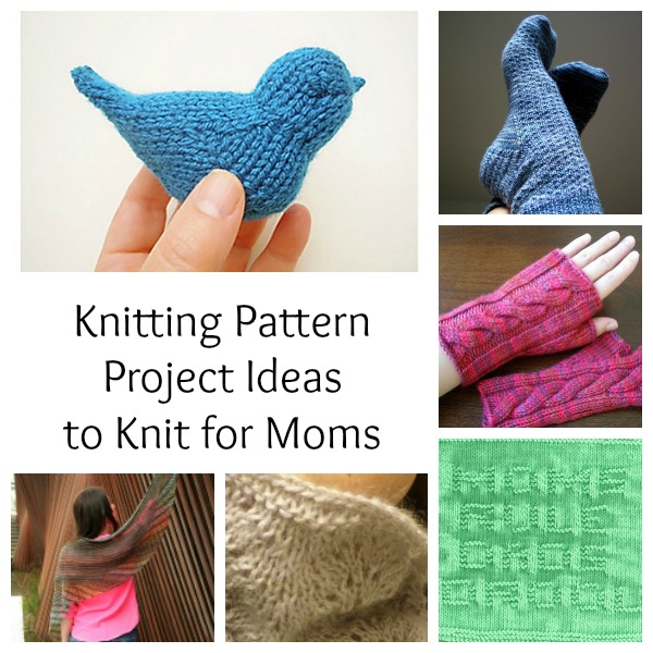 knitting patterns to make for moms
