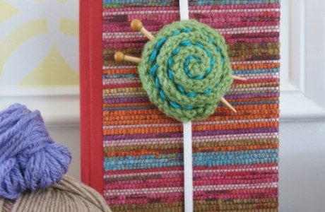 Knit a Bookmark that Looks Like a Yarn Ball