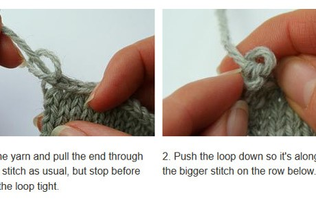 An Easy Way to Make Your Bind Off Neater