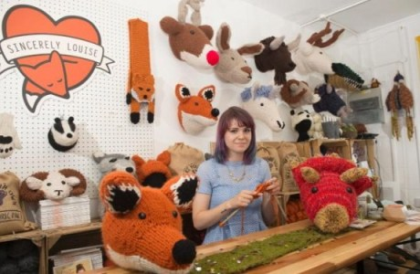 Making a Mint on Knit Taxidermy