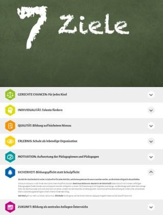 Neustart Schule 7 Ziele