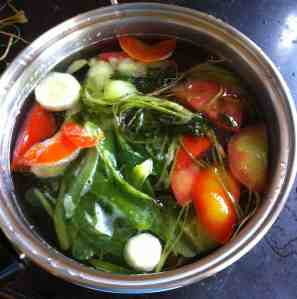 Here's another really easy gluten free soup stock made using vegetables cuttings. Click the Picture to get the recipe.