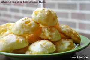 Gluten Free Bread Alternative Brazilian Cheese Buns