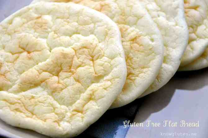 gluten free flat bread from knowgluten