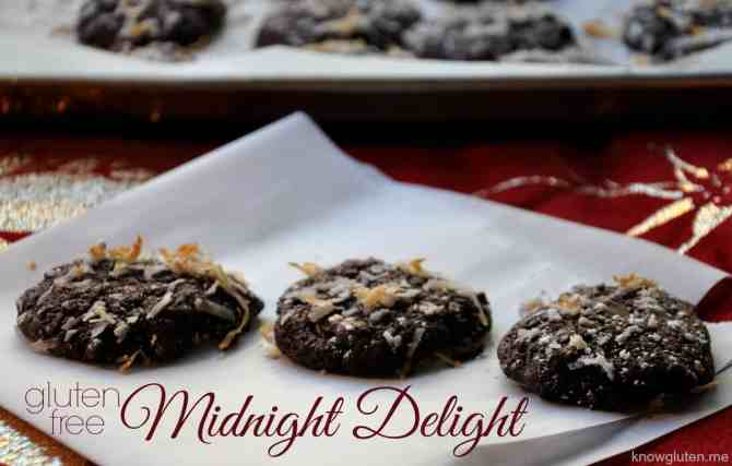 Gluten Free Midnight Delight Double Chocolate Chip Cookies from knowgluten.me