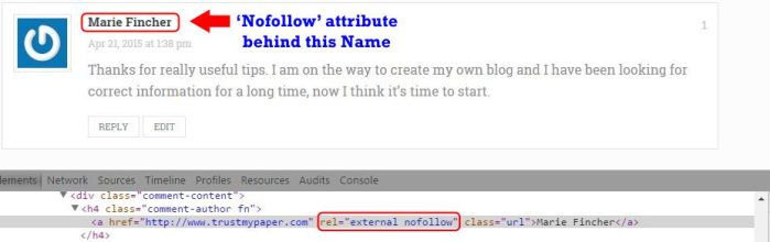 Is Blog Commenting Still Effective Nofollow attribute