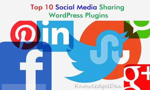 Top 10 Social Media Sharing WordPress Plugins