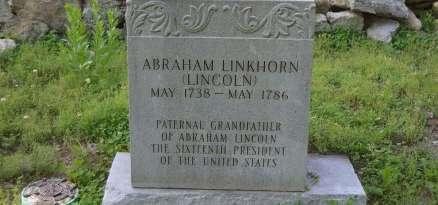Abraham_Linkhorn_grave_marker
