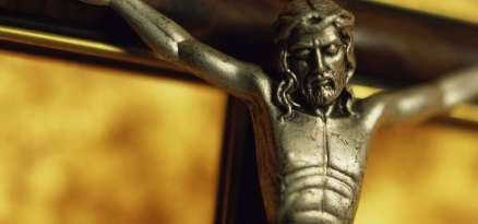 Close-up of a crucifix