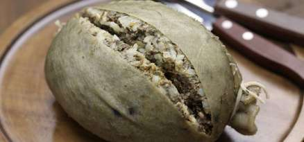 homemade haggis, scotland food