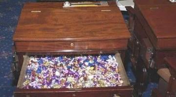 The U.S. Senate's Secret Candy Desk