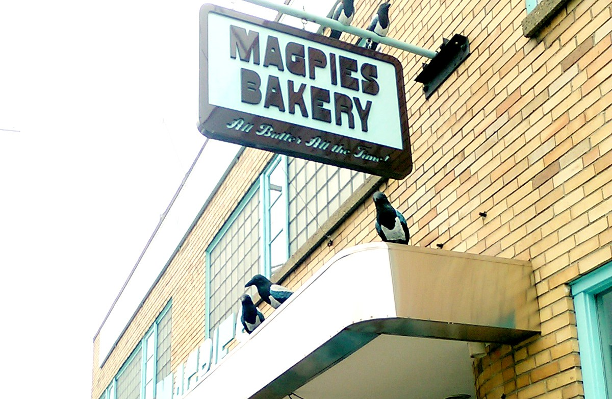 Magpie's sotrefront in Knoxville. Image used with permission