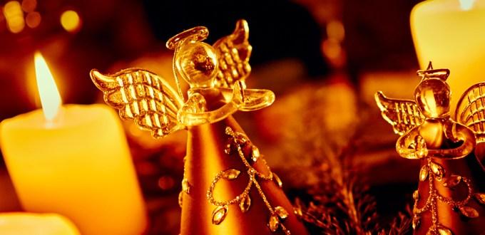 Gold angels banner