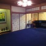 和室とピアノルームのカーペットを同色にしました。