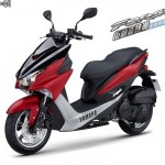 Yamaha Force 155 merah putih