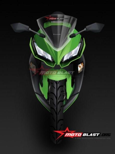 New Kawasaki Ninja 250 FI front