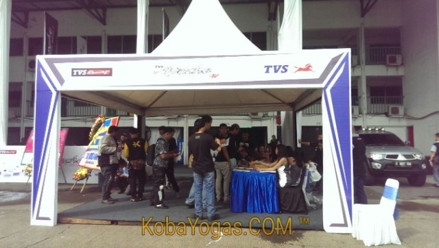 test ride TVS komunitas kobayogas 2