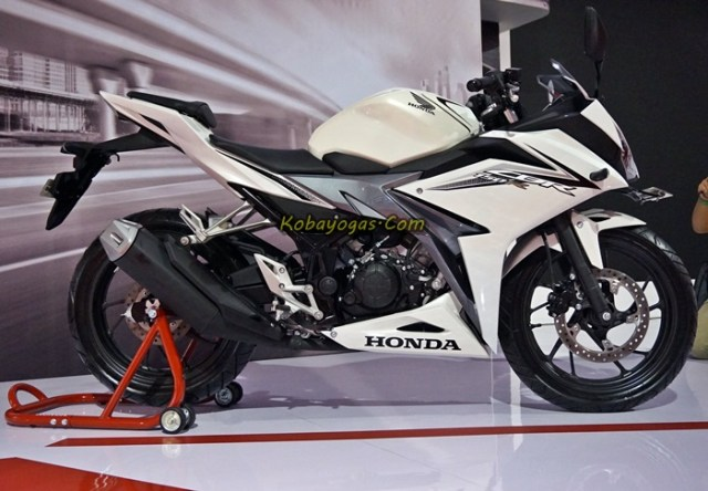 new cbr150r facelift 2016 white