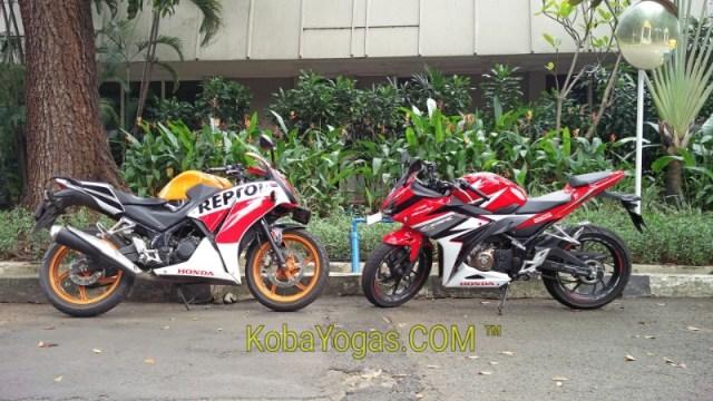 All New Honda CBR150R vs CBR150R dual keen eyes