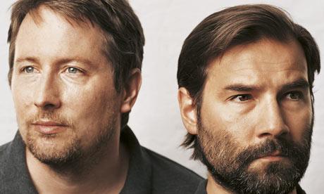 Adam and Joe: 'We will be back.' Photograph: James Mollison Kobestarr.com