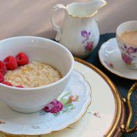 Schottisches Porridge für einen guten Tages-Start