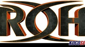"Paul London suffers a head injury at the ROH ""Border Wars '13"" iPPV"