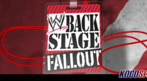 Video: What is AJ's agenda? – Backstage Fallout Raw – March 18, 2013